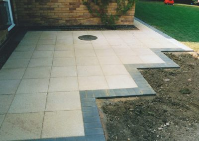 Stone Patio Landscaping