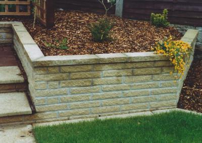 Stone Wall Landscape Design