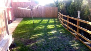 former outsoor space millboard garden decking
