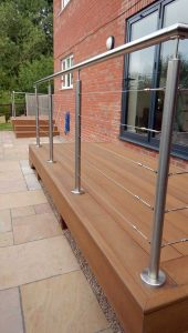 new millboard garden decking