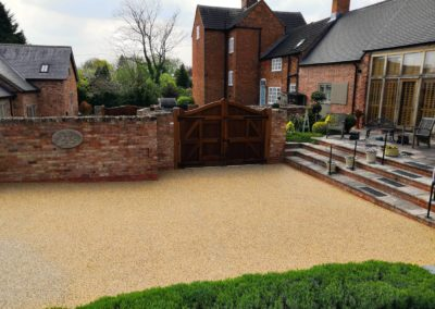 Resin Bound Aggregate - Finished