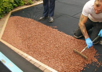resin bound aggregate install 3